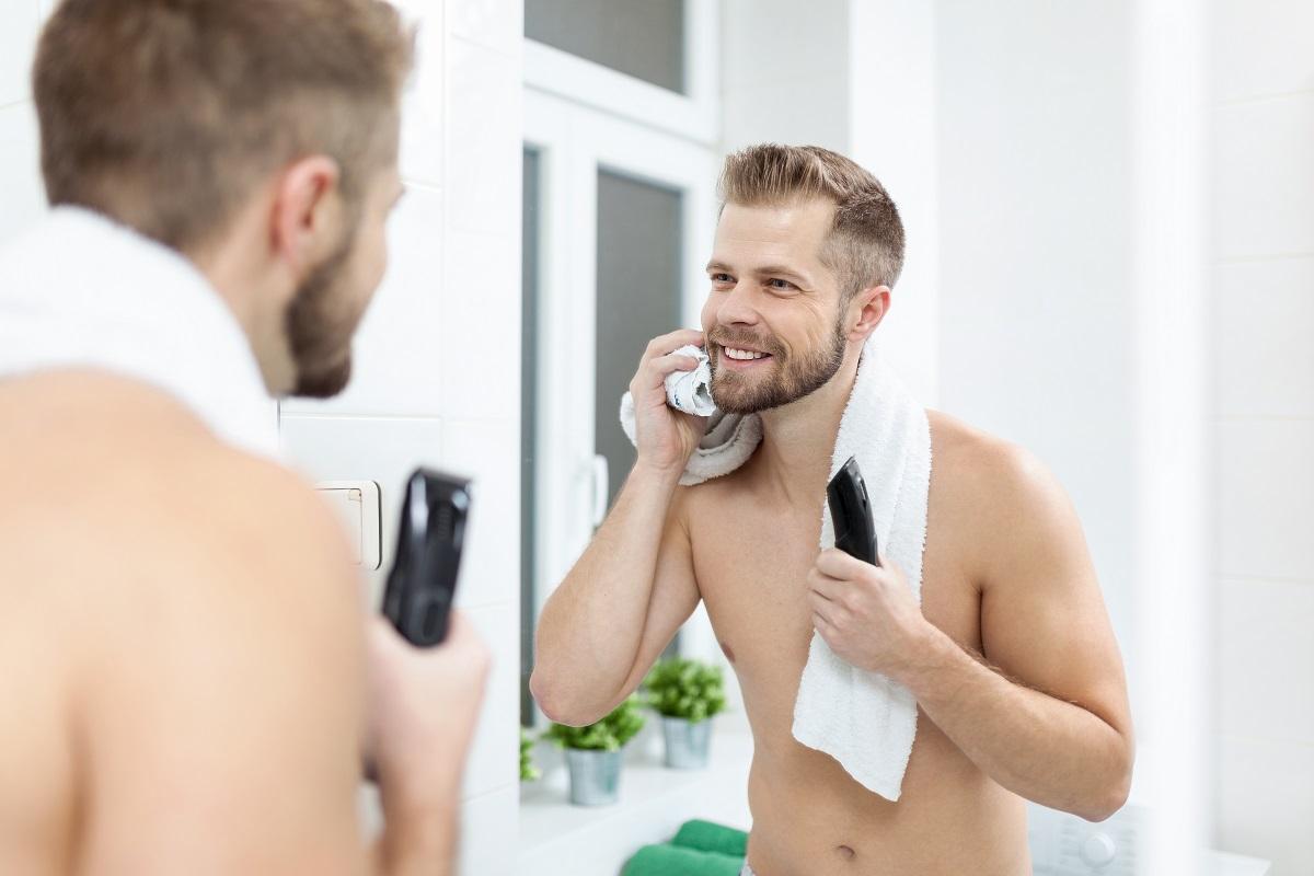 cuidar da barba